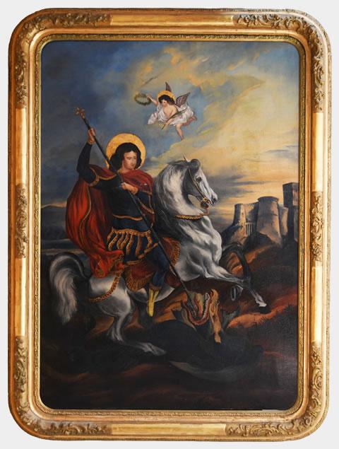 Sveti Georgije ubija aždaju